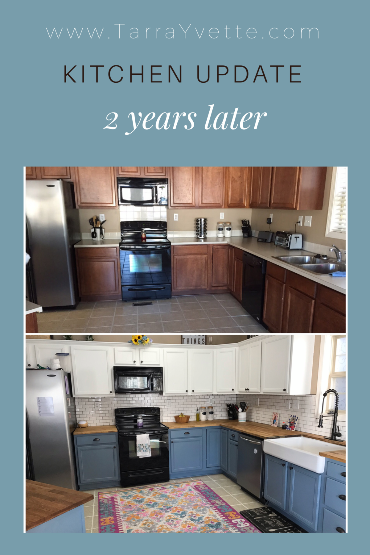 Kitchen Renovation – 2 year update